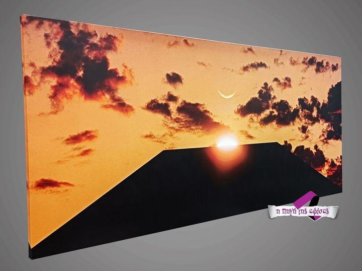 Ψηφιάκη εκτύπωση σε αφίσα η καμβά space odyssey καμβας μεγαλου μεγεθους