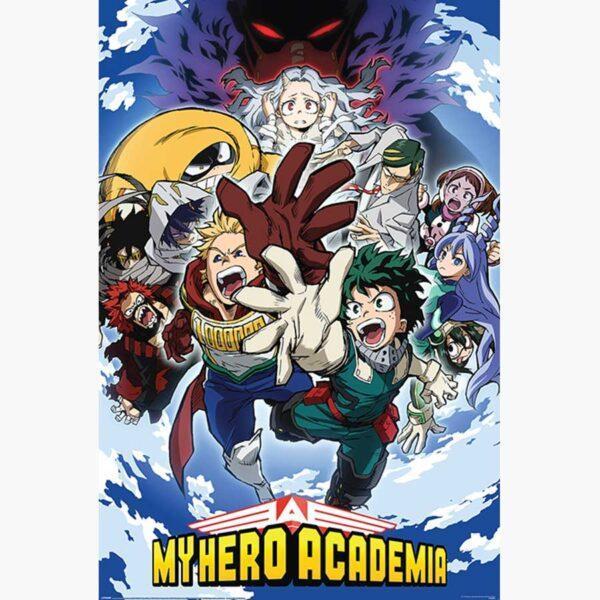 Αφίσες Anime, Animation - My Hero Academia (Reach Up)