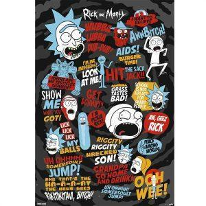 Αφίσες Anime, Animation - Rick and Morty, Quotes