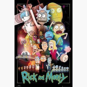 Αφίσες Anime, Animation - Rick and Morty, Wars