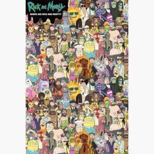 Αφίσες Anime, Animation- Rick and Morty, Where's Rick