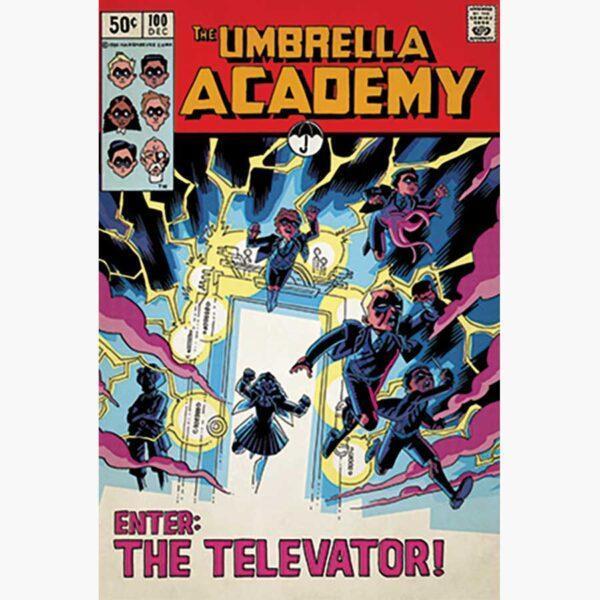 Αφίσες Anime, Animation - The Umbrella Academy (Enter The Elevator)