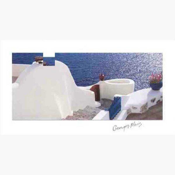 Αφίσες Ελληνικά Τοπία - George Meis white