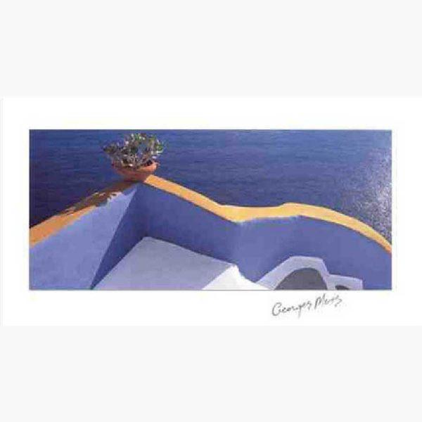 Αφίσες Ελληνικά Τοπία - George Meis Veranda