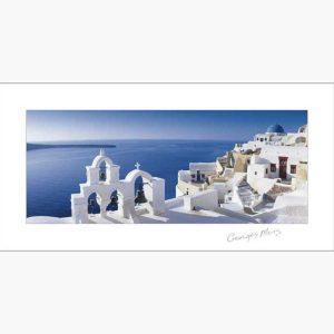 Αφίσες Ελληνικά Τοπία - George Meis Bell Sunset
