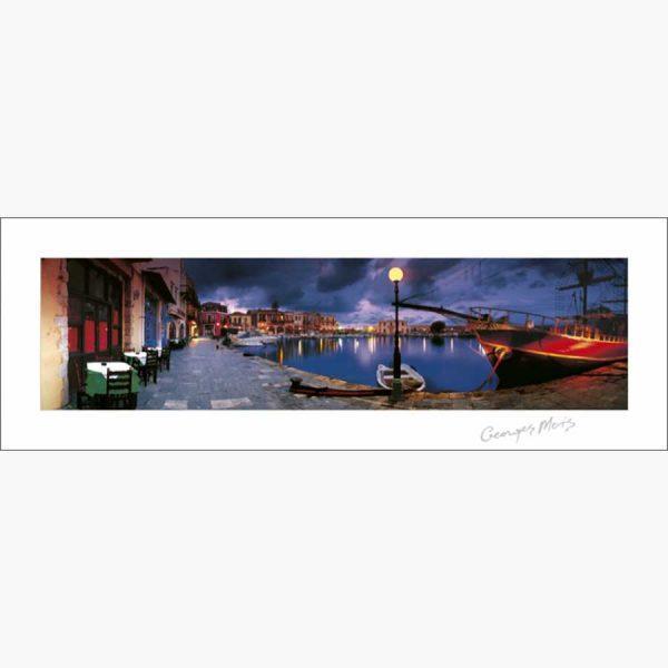 Αφίσες Ελληνικά Τοπία - George Meis Harbour in Greece