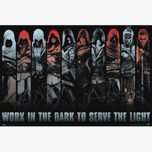 Αφίσες Gaming - Assasins Creed, Work in the Dark