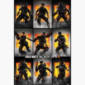 Αφίσες Gaming - Call of Duty: Black Ops 4 (Characters)