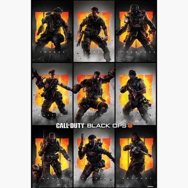 Αφίσες Gaming - Call of Duty: Black Ops 4 (Characters)