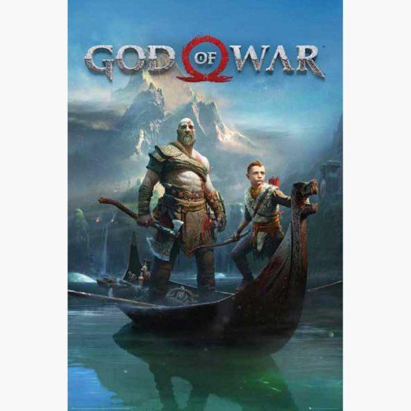 Αφίσες Gaming - God Of War Key Art