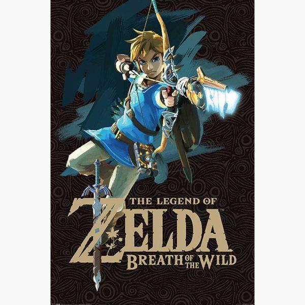 Αφίσες Gaming - The Legend of Zelda: Breath Of The Wild