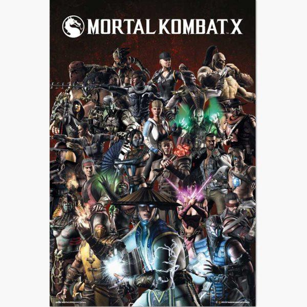 Αφίσες Gaming - Mortal Kombat X, Characters