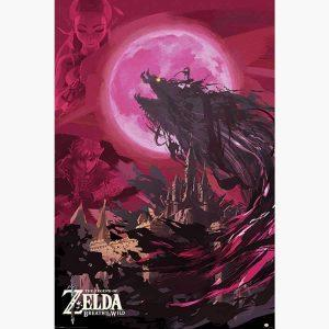 Αφίσες Gaming - The Legend Of Zelda, Breath Of The Wild (Ganon Blood Moon)