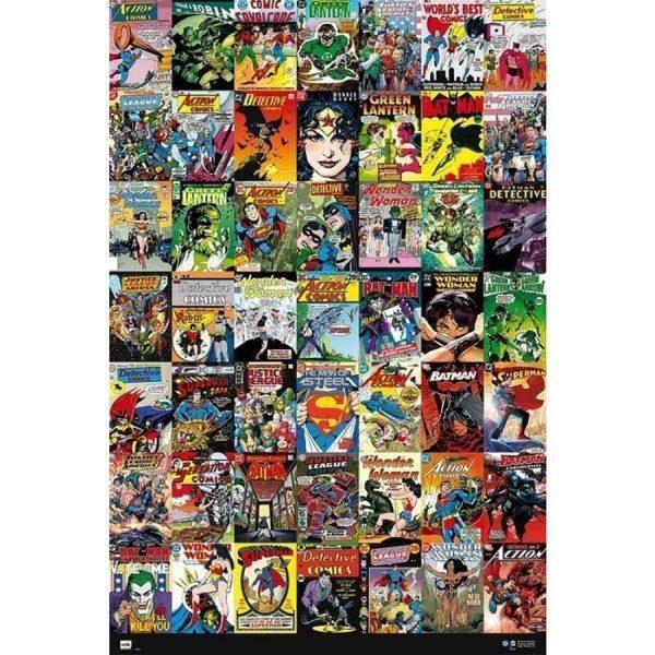 Αφίσες Marvel, Dc, Super Heroes - DC, Comics Classic Covers