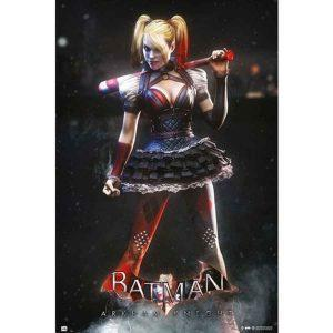 Αφίσες Marvel, Dc, Super Heroes - Harley Quinn, Batman Arkham Night