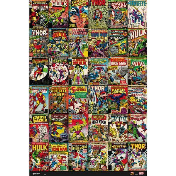 Αφίσες Marvel, Dc, Super Heroes - Marvel, Comics Classic Covers