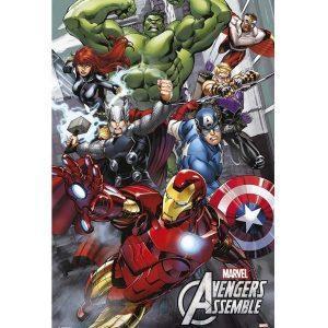 Αφίσες Marvel, Dc, Super Heroes - Marvel, Avengers Assemble