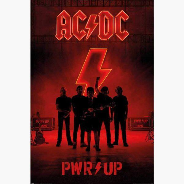 Αφίσες Μουσικής Old Bands & Singers - AC/DC (PWR/UP)