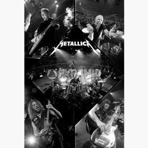 Αφίσες Μουσικής Heavy Metal, Rock - Metallica (Live)