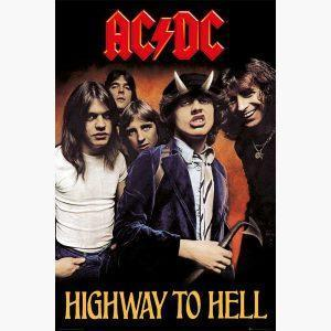 Αφίσες Μουσικής Old Bands & Singers - AC/DC Highway To Hell