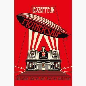 Αφίσες Μουσικής Old Bands & Singers - The Mothership, Led Zeppelin