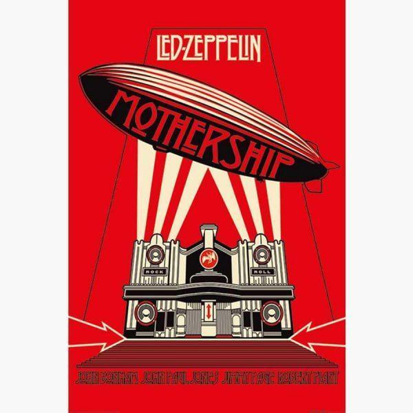 Αφίσες Μουσικής Old Bands & Singers - The Mothership, Led Zeppelin