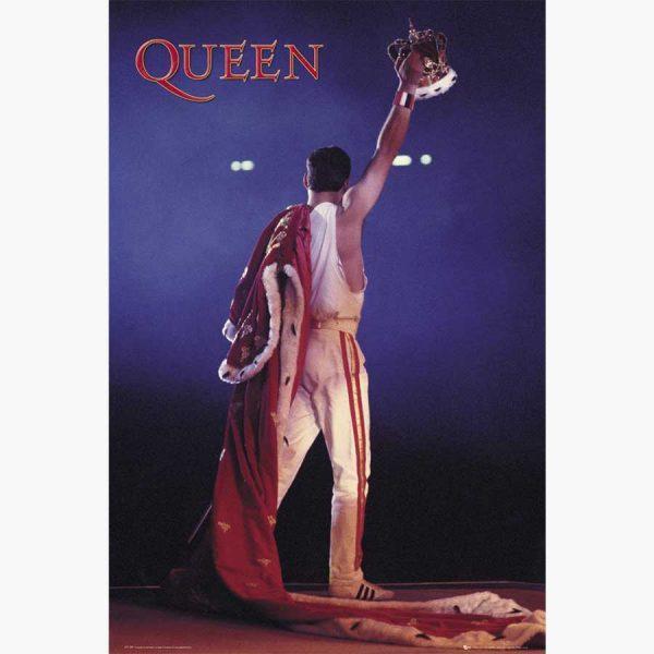 Αφίσες Μουσικής Old Bands & Singers - Queen, Crown