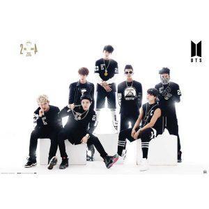 Αφίσες Μουσικής Pop, Rnb, Rap - BTS, Black & White
