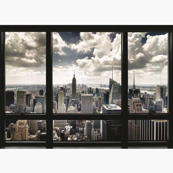 Αφίσες Τοπία, Πόλεις - New York Window