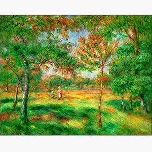 Αντίγραφα Ξένων Ζωγράφων - A. Renoir - clairiere