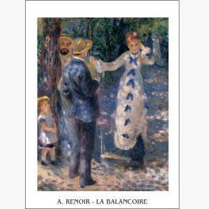 Αντίγραφα Ξένων Ζωγράφων - A. Renoir - La Balancoire