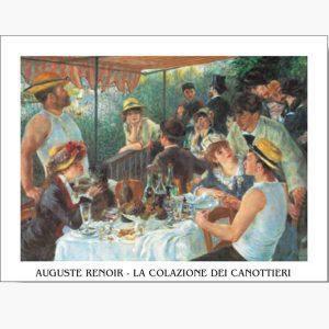 Αντίγραφα Ξένων Ζωγράφων - A. Renoir - la colazione dei canottieri