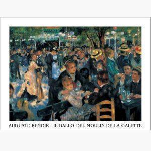 Αντίγραφα Ξένων Ζωγράφων - A. Renoir - il ballo del mulin de la Galette