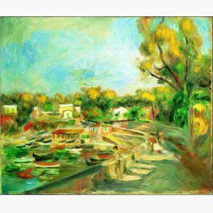 Αντίγραφα Ξένων Ζωγράφων - A. Renoir - paysage a cagnes