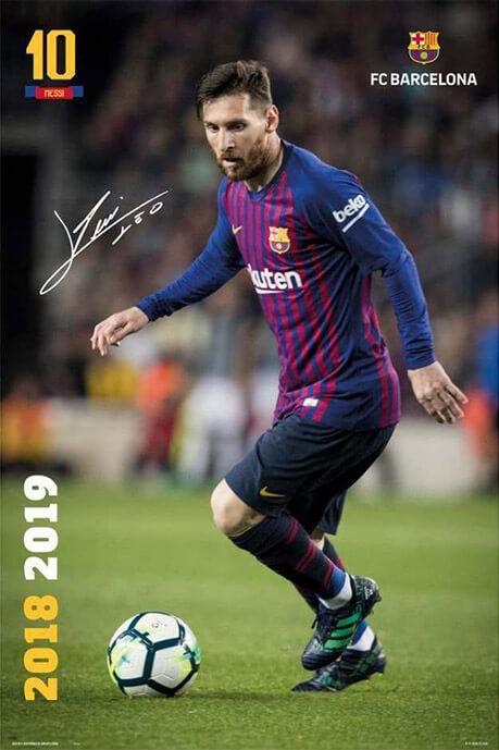 Αφίσα - Barcelona FC Messi