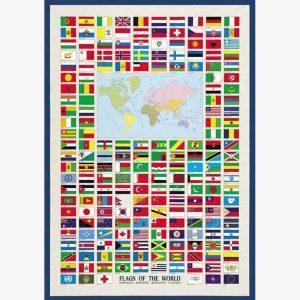 Εκπαιδευτικές Αφίσες - Flags of the World