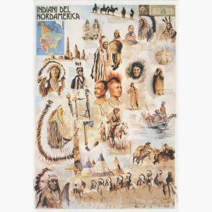 Εκπαιδευτικές Αφίσες - Indians of North America