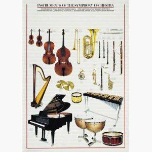 Εκπαιδευτικές Αφίσες - Musical Instruments