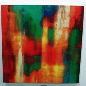 Καμβάς - Ελαιοτυπία - Abstract