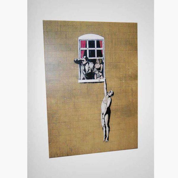 Καμβάς - Μονοτυπία - Anonymous attributed to Banksy by selected Artworks