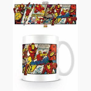 Κούπες - Κεραμική Κούπα OFFICIAL Marvel Comics Retro (Iron Man Panels)