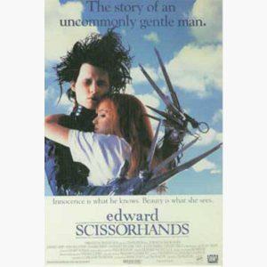 Κινηματογραφικές Αφίσες - EDWARD SCISSORHANDS