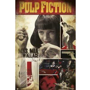 Κινηματογραφικές Αφίσες - Pulp Fiction, Mia