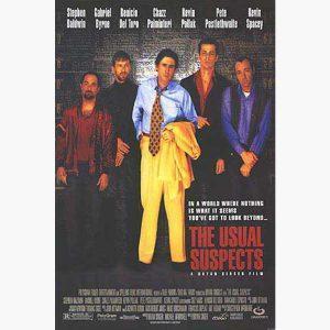 Κινηματογραφικές Αφίσες - The Usual Suspects