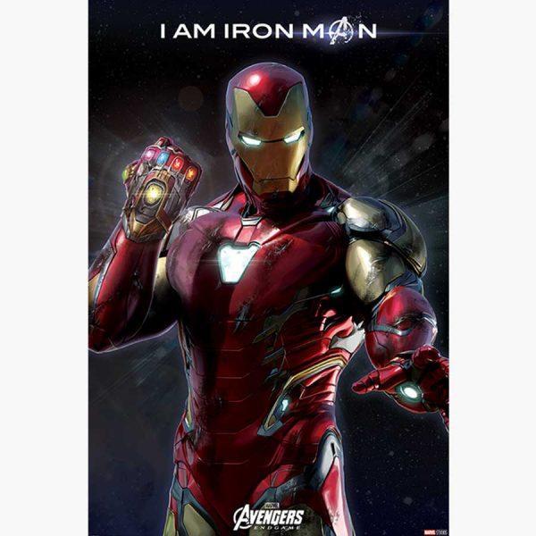 Κινηματογραφικές Αφίσες - Avengers: Endgame (I Am Iron Man)