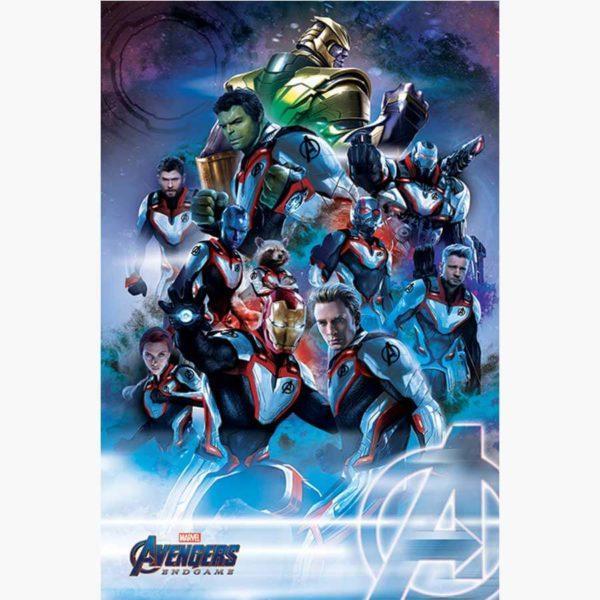 Κινηματογραφικές Αφίσες - Avengers, Endgame (Quantum Realm Suits)
