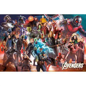 Κινηματογραφικές Αφίσες - Avengers: Endgame, Line Up
