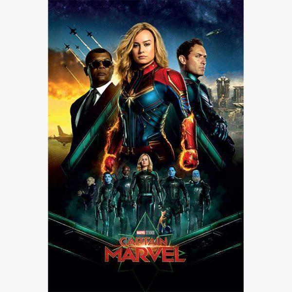 Κινηματογραφικές Αφίσες - Captain Marvel