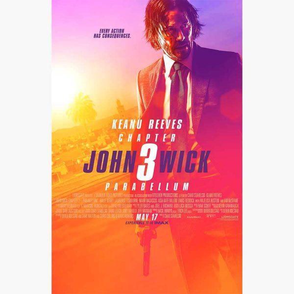 Κινηματογραφικές Αφίσες - John Wick Chapter 3, Parabellum