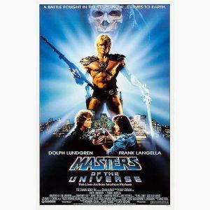 Κινηματογραφικές Αφίσες - Masters of the Universe